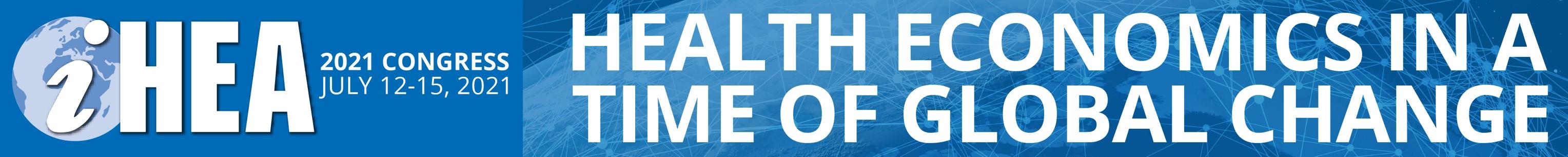 2021 World Congress on Health Economics